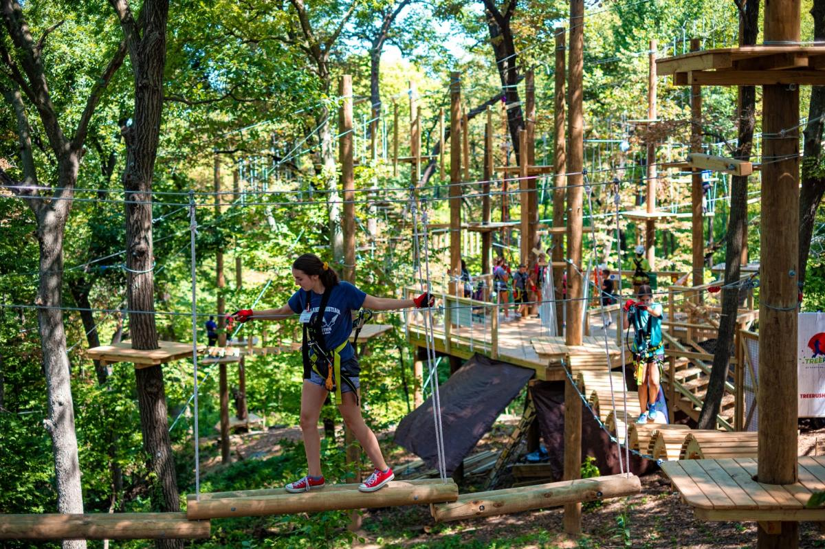 TreeRush Adventures at Fontenelle Forest