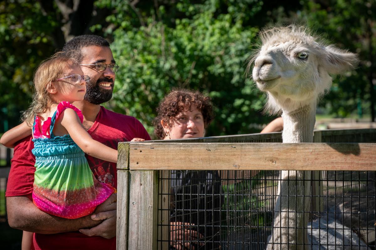 Menominee Park & Zoo Family