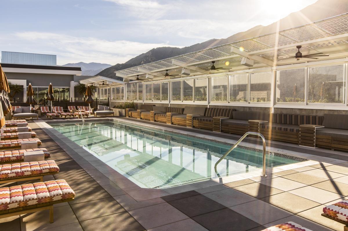 Kimpton rowan hotel rooftop pool