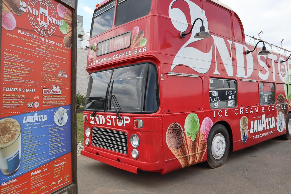 Food Truck image of 2nd Stop Ice Cream & Coffee Bar at FARM BREW LIVE