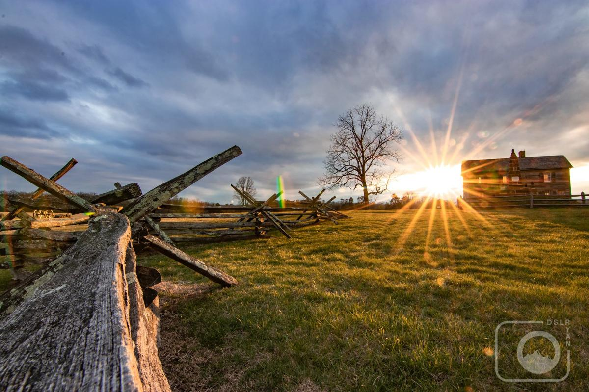 Manassas Battlefield Sunrise at Henry Hill