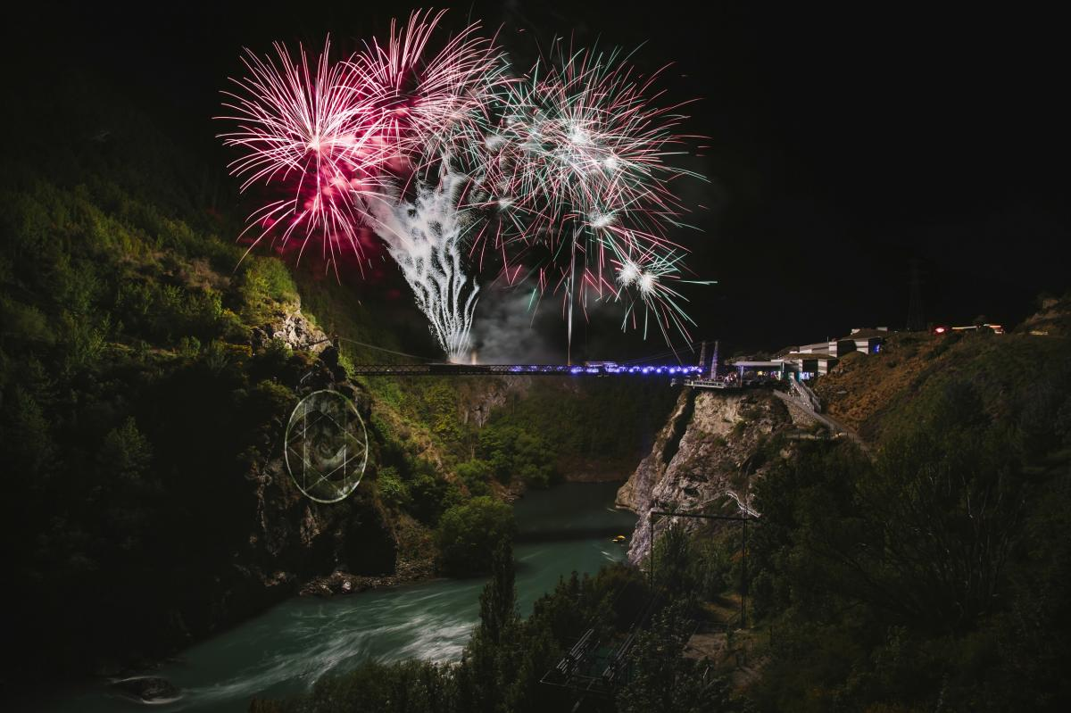 Fireworks at the Bungy dome - Conference and Incentives Programmes