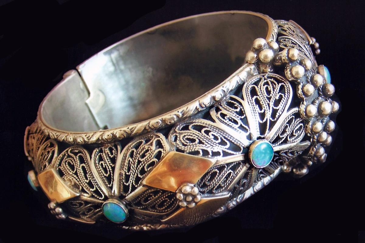 Yemenite bridal bracelet