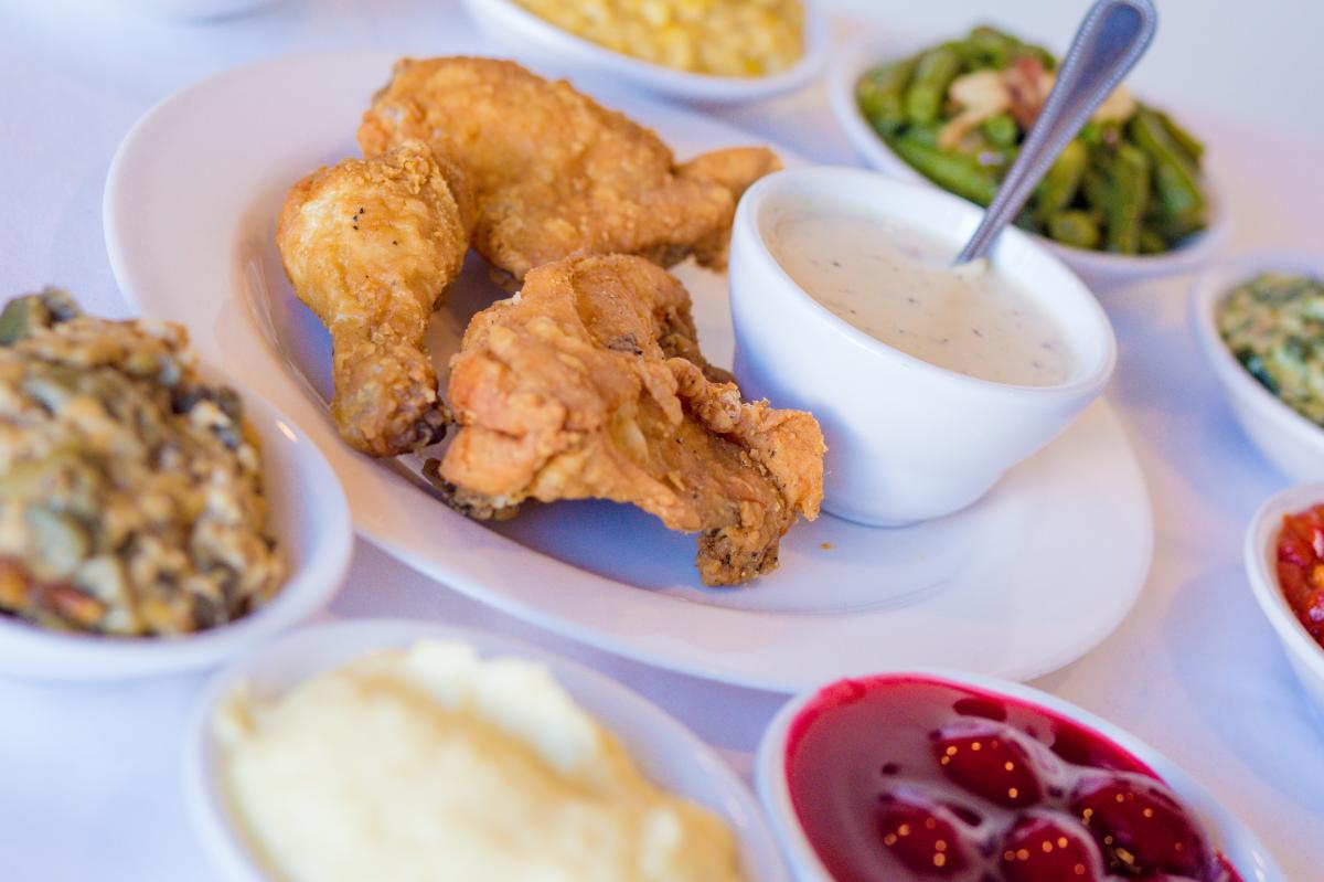 Claudia Sanders Fried Chicken