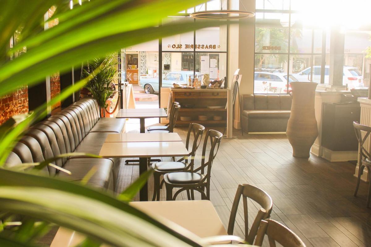 Dining Room at Brasserie SLO in SLO CAL