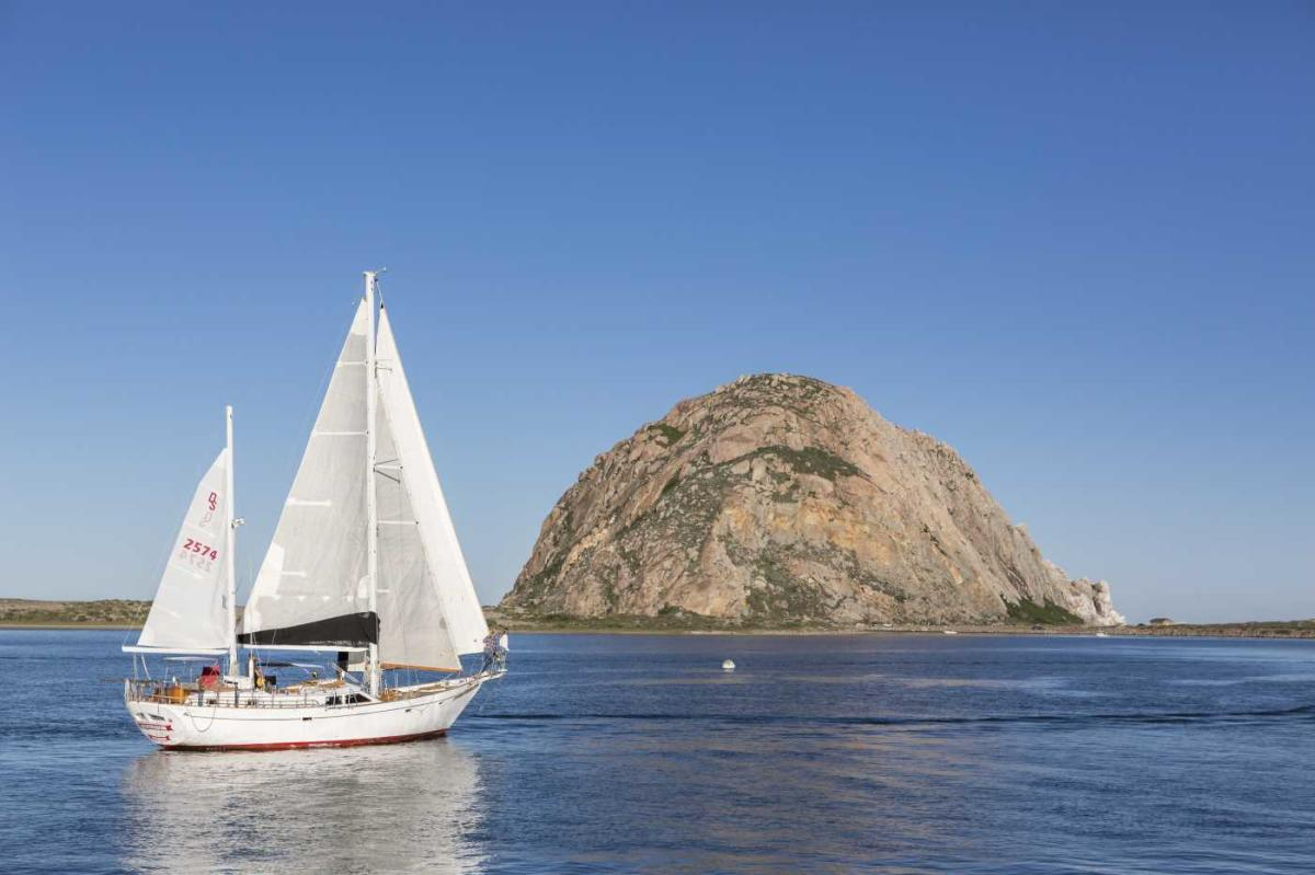 sail at morro rock