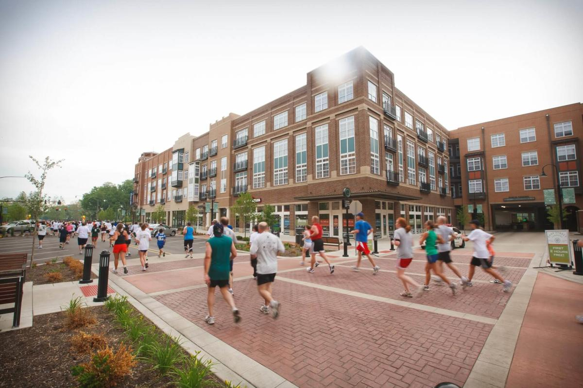 Runners participate in the Hannah and Friends 5k