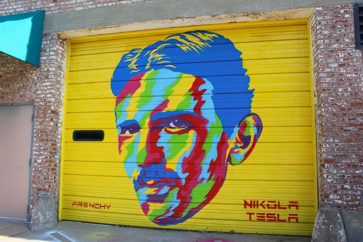 Nikola Tesla Mural