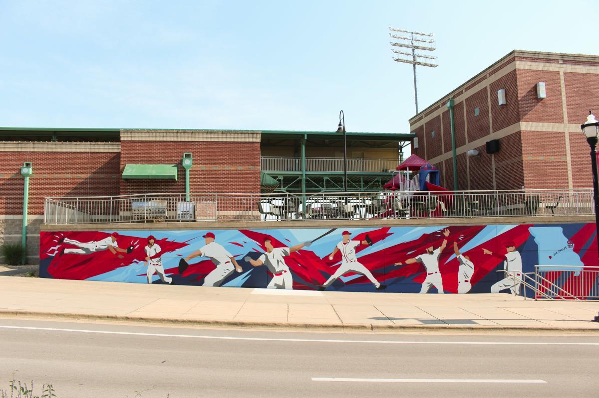 Springfield Cardinals Mural
