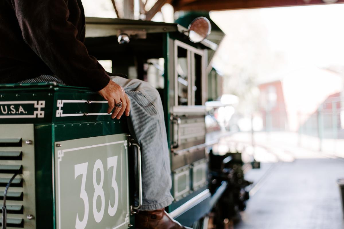 Titus Train Ride at Dickerson Park Zoo