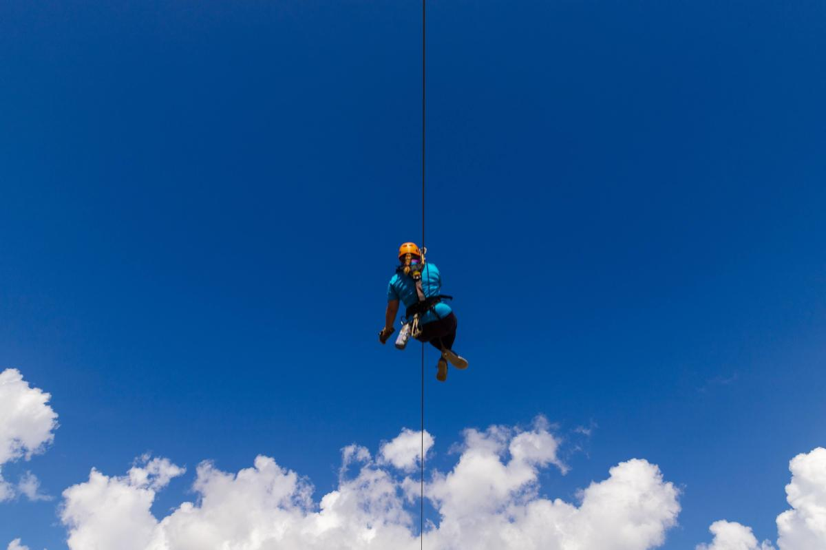 Empower Adventures Tampa Bay zip line