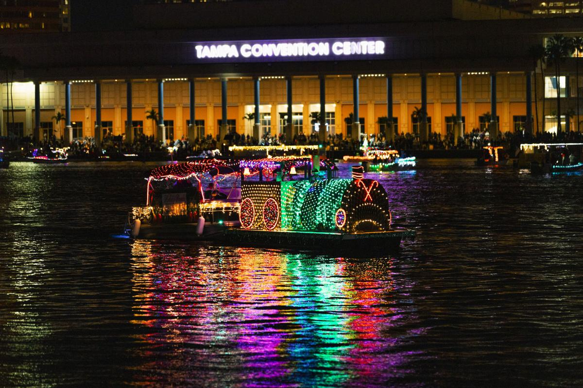 Tampa Lighted Boat Parade