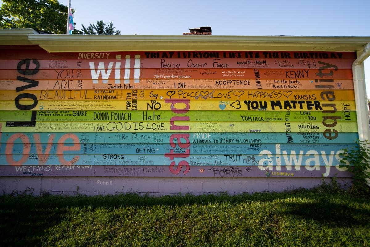 Equality House - Unity Wall | Topeka, KS