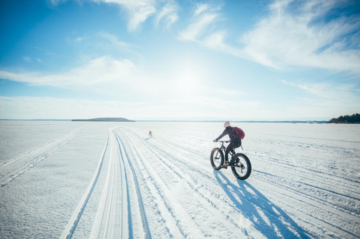 Fat tire biking pictures