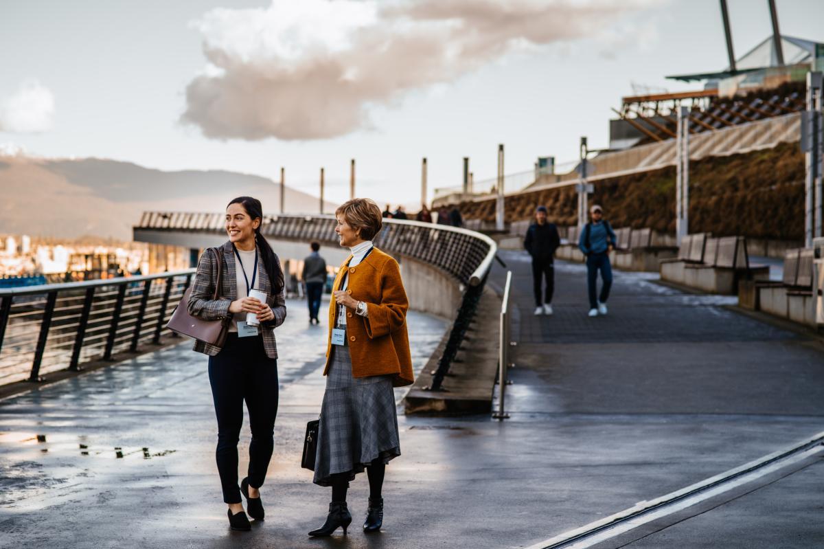 meeting coal harbour waterfront