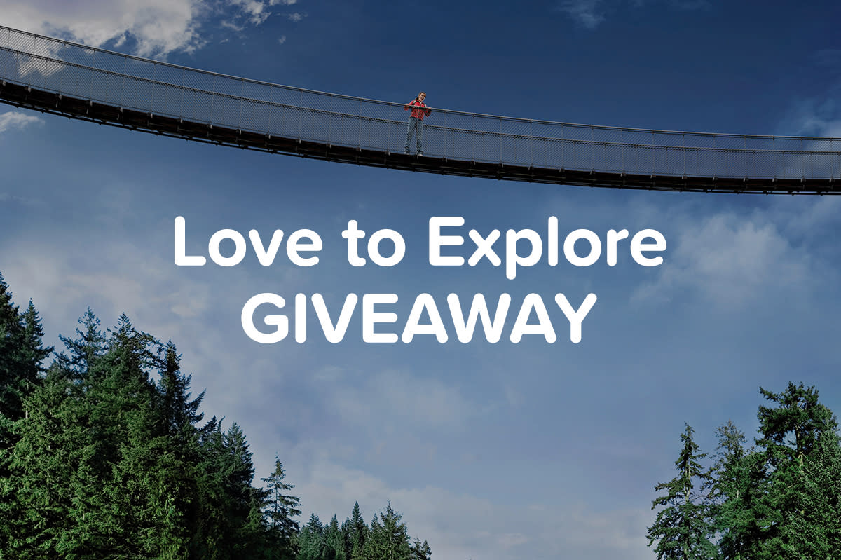 Love to Explore Giveaway