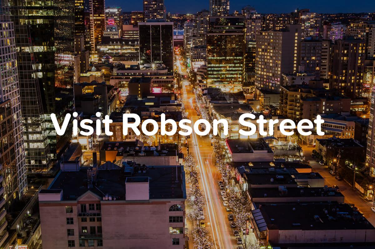 Visit Robson Street