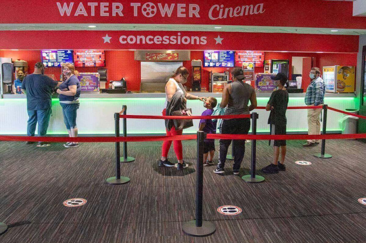 water tower cinema