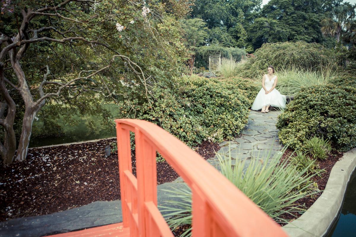 Garden Weddings, New Hanover County Arboretum