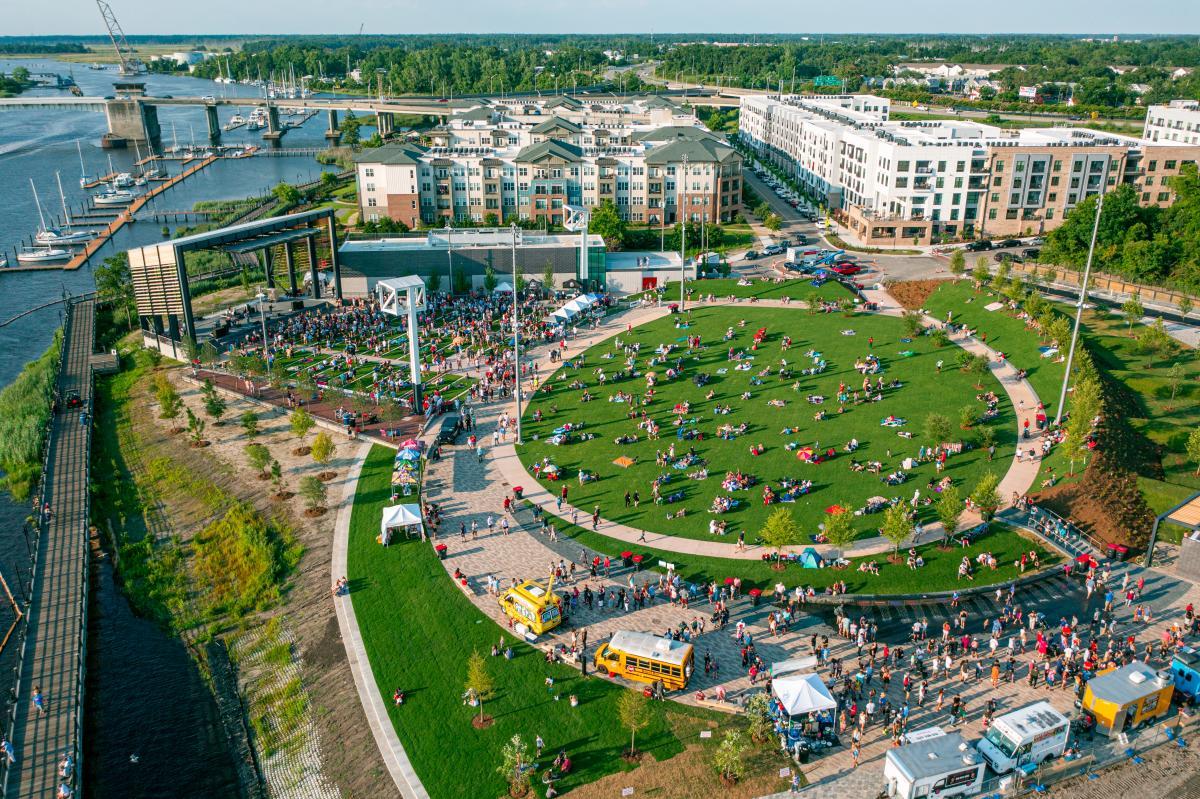 Riverfront Park & Amphitheater Grand Opening