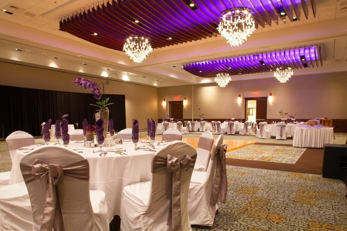 WCC Ballroom Wedding set up