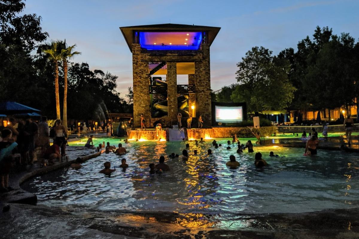 Dive in Movie at The Woodlands Resort