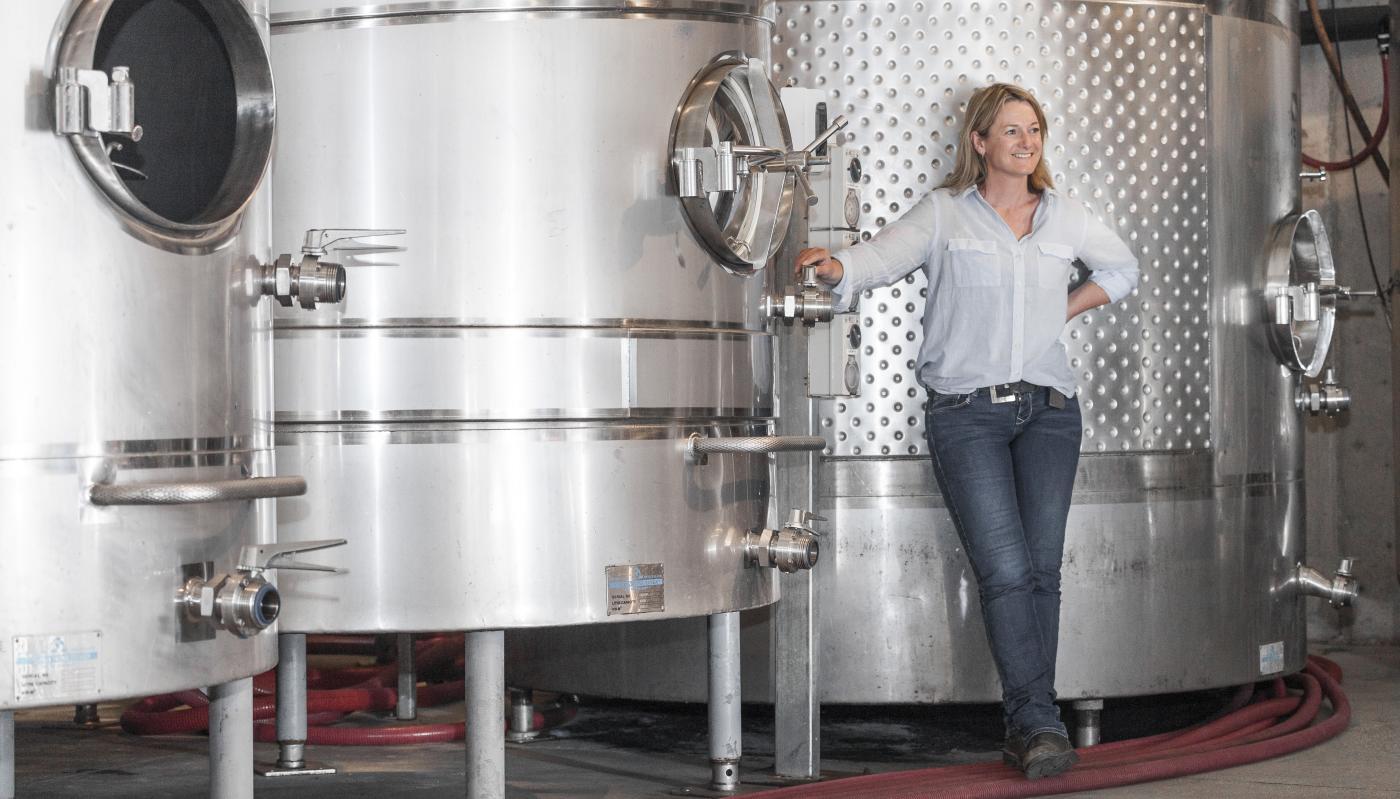 Nadine Cross Winemaker