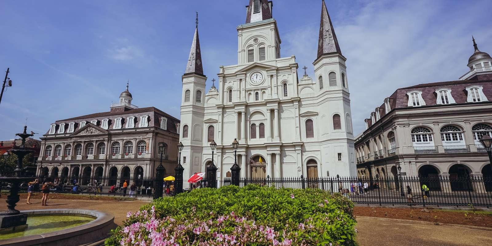 Jackson Square - St. Louis Cathedral - Springtime