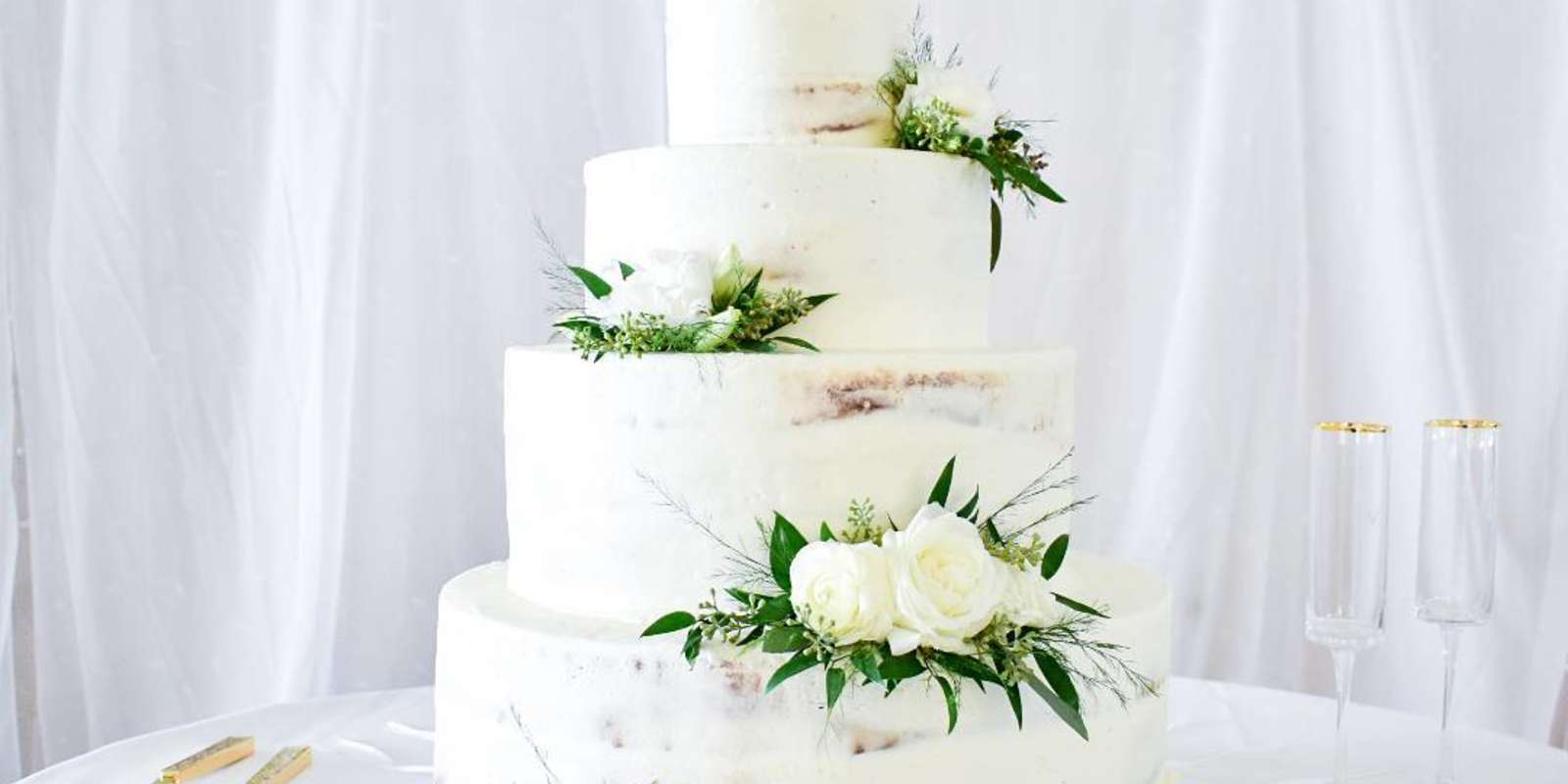 NOLA wedding cake