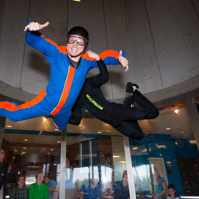Paraclete XP Indoor Skydiving