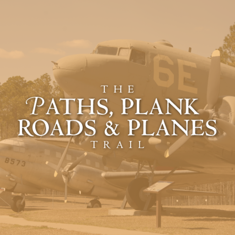 Paths, Plank Roads, and Planes Trail Image