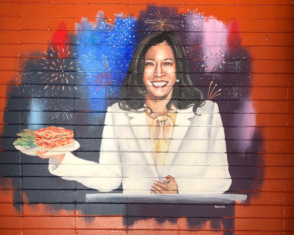 Kamala Harris Mural