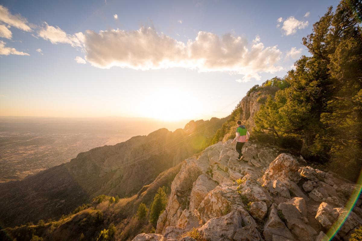 Sandia Mountain Hiking