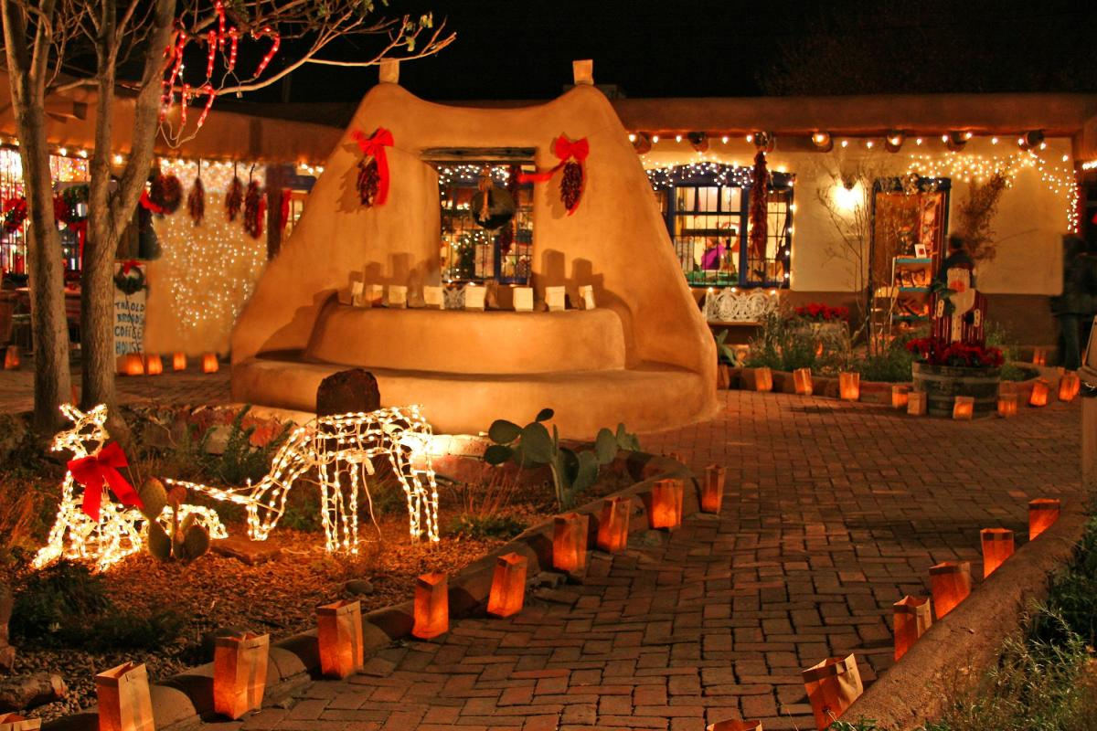 Old Town During the Holidays