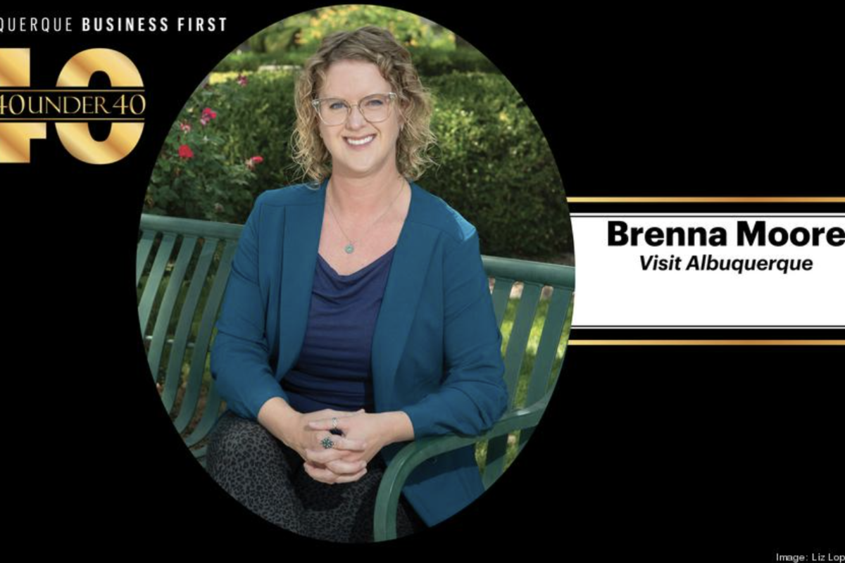 Brenna Moore 40 Under Forty