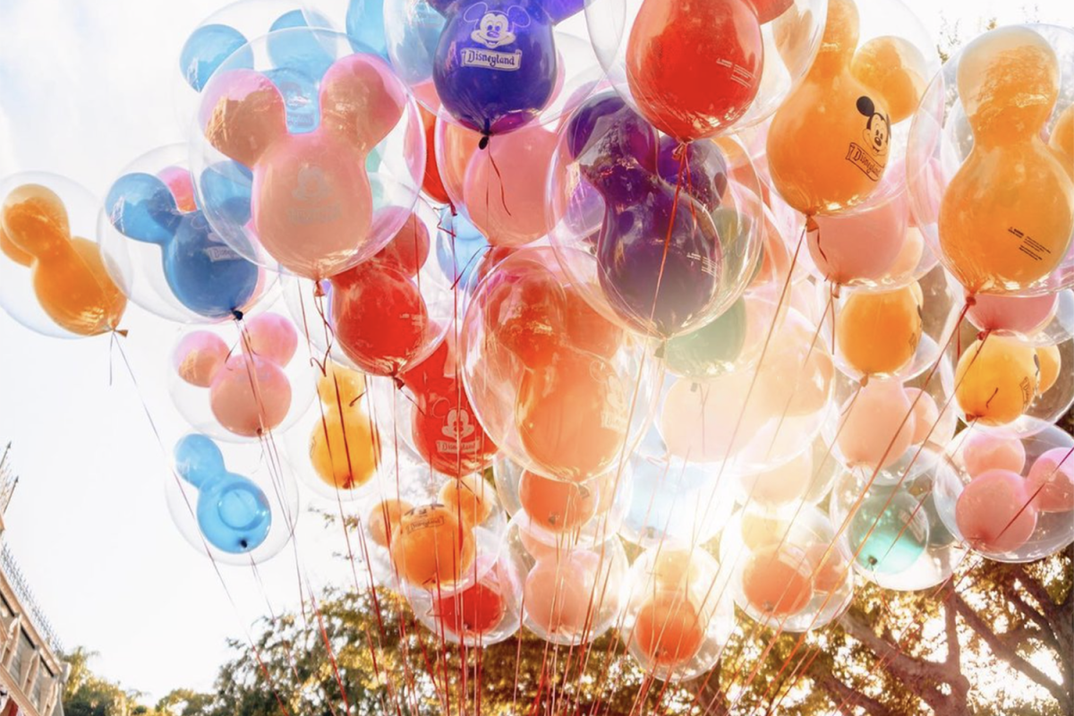 Disneyland Park Balloons