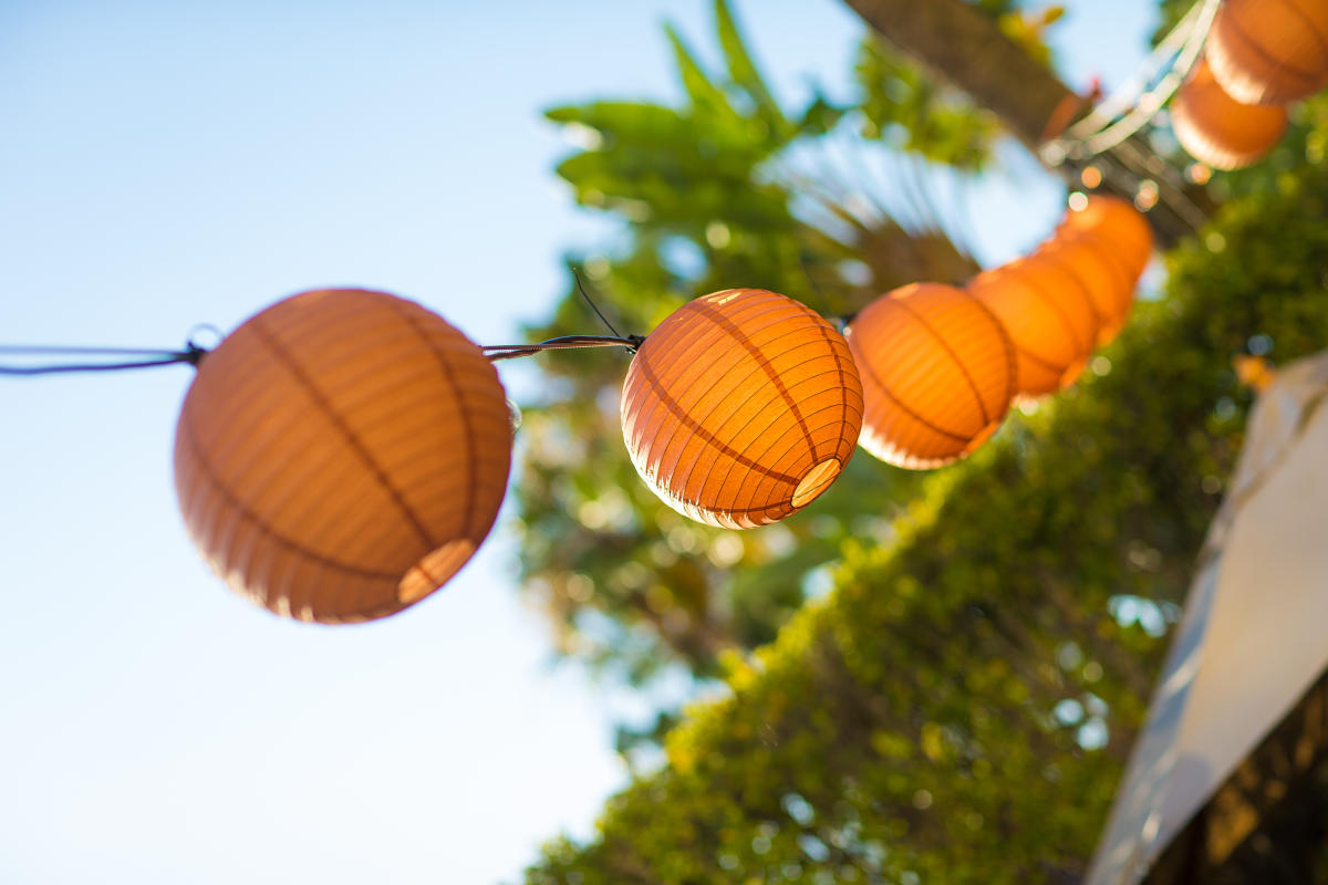 Hotel Irvine Paper Lanterns