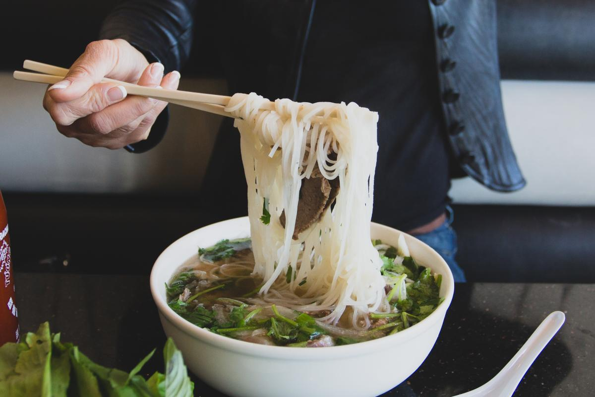 Beef Pho from Pho 45