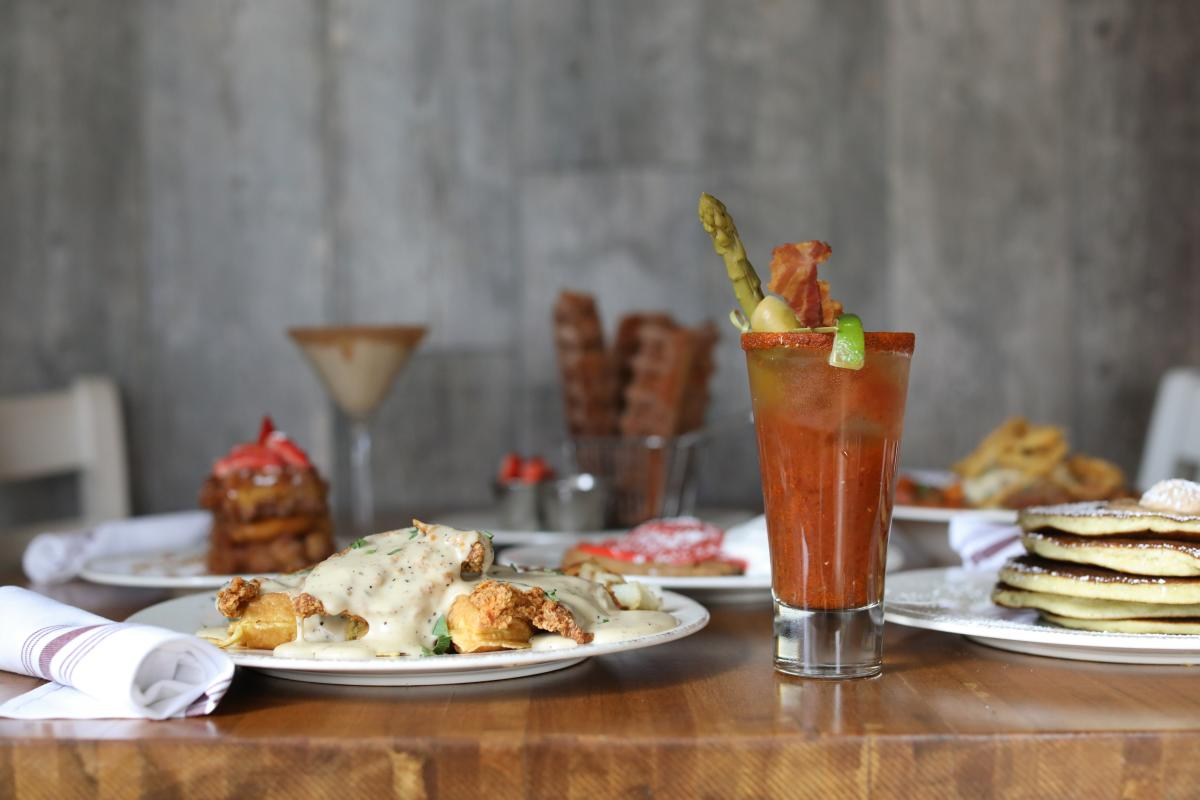 Iron Rooster Bloody Mary