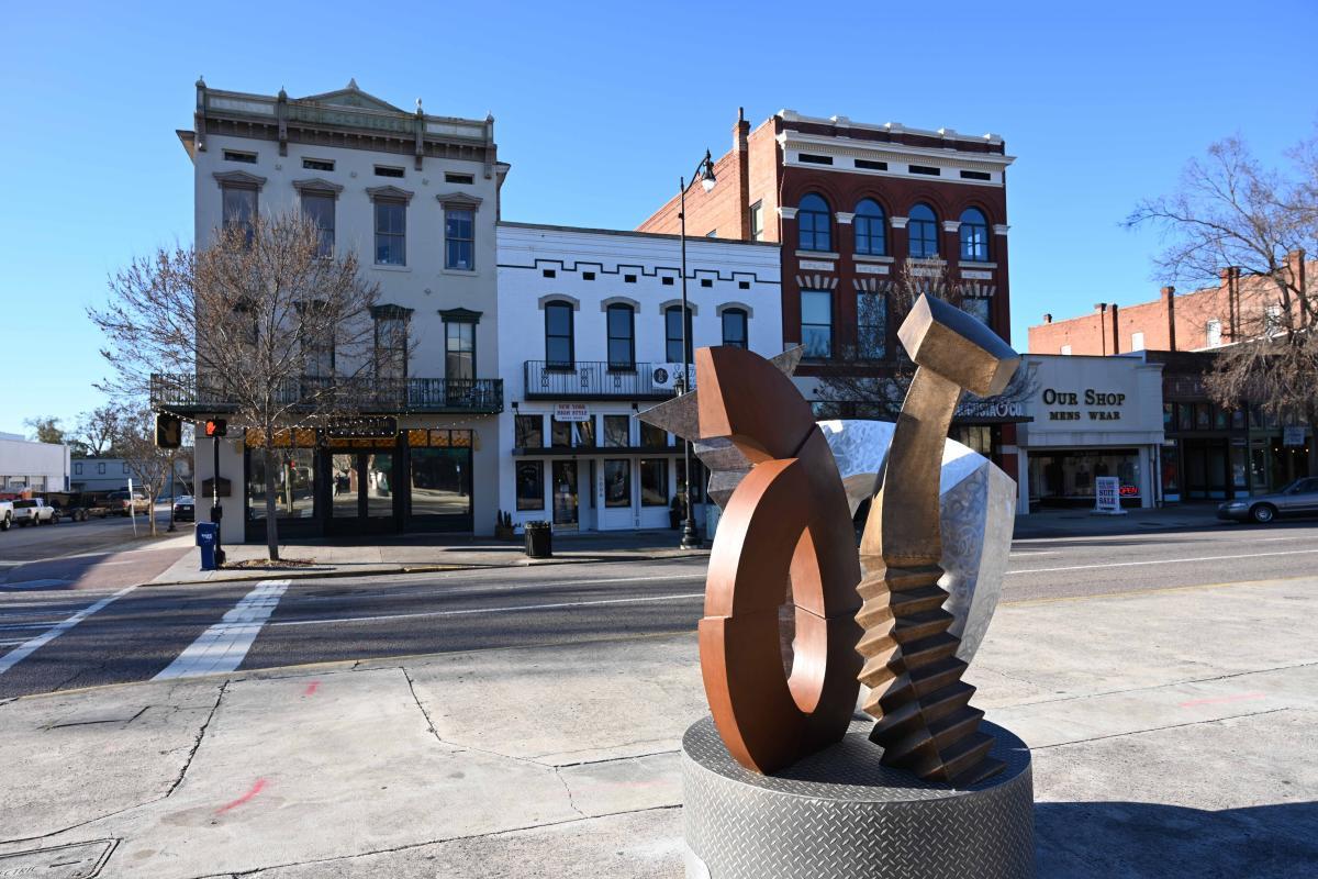 sculpture trail; public art augusta
