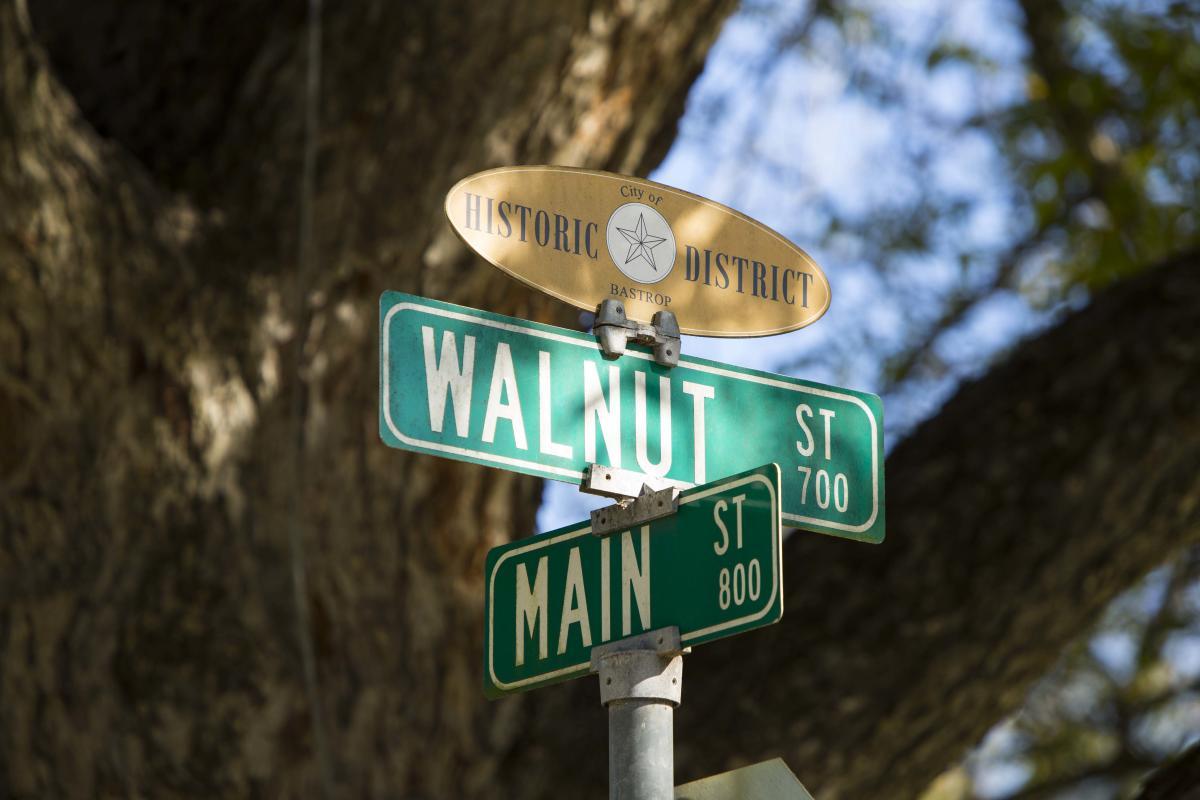 Historic District Bastrop Texas