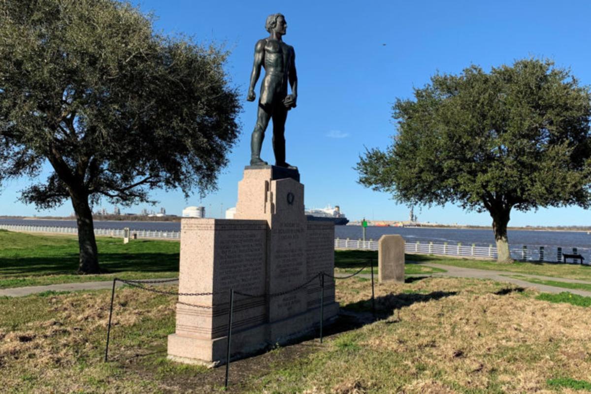 Sabine Pass Battle Memorial