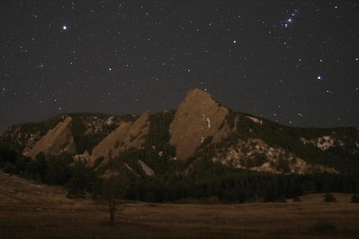 Flatirons with Stars