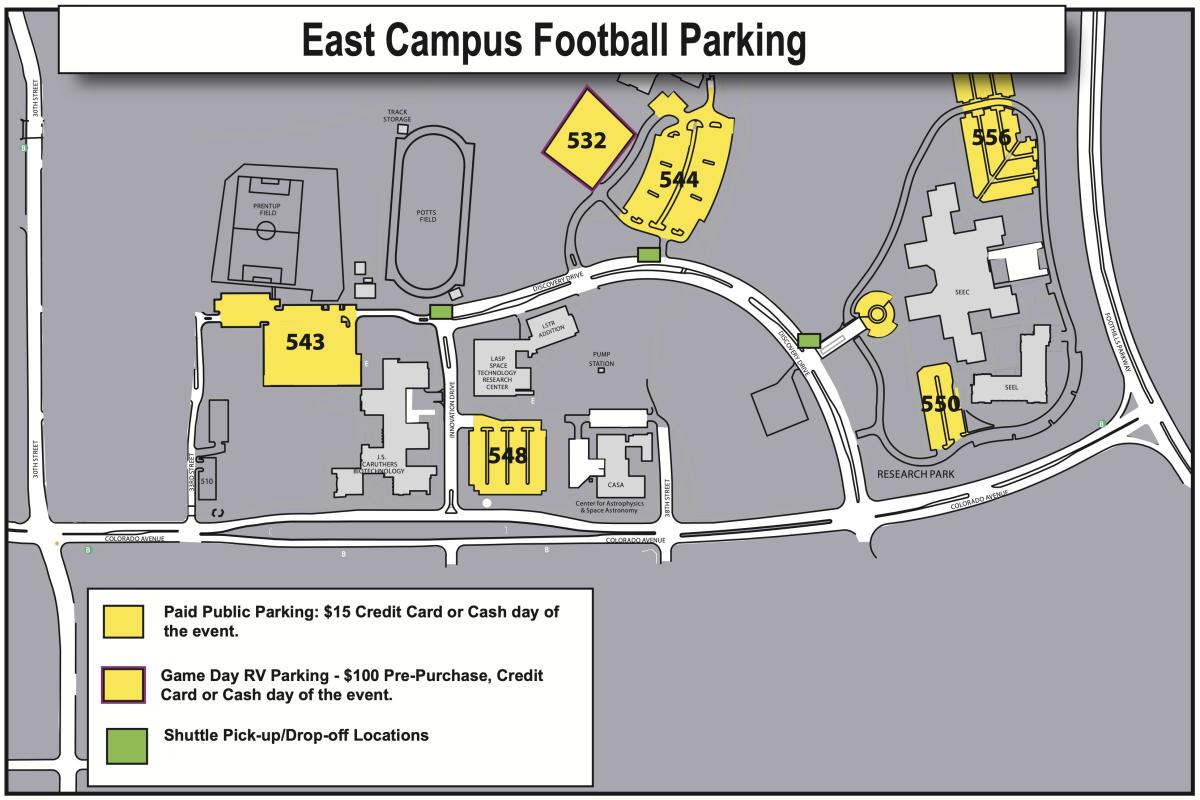East Campus Football Parking