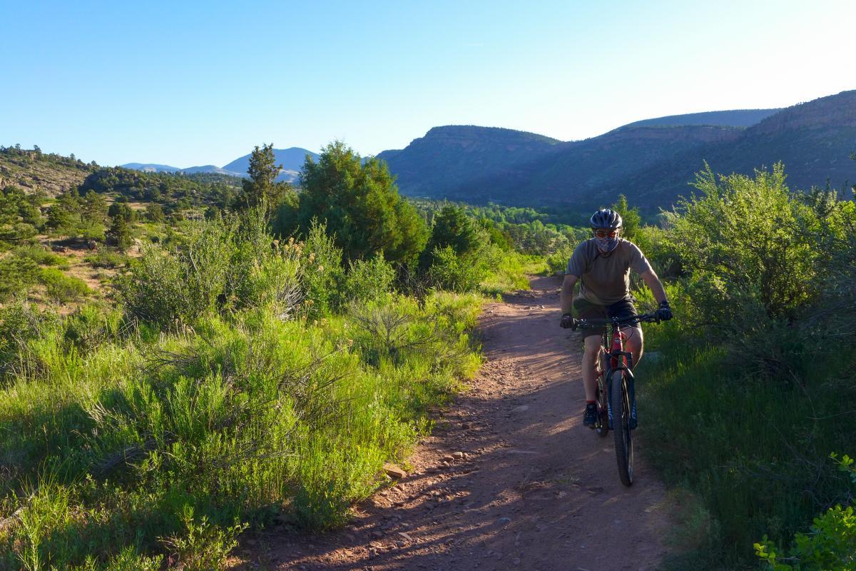 Mountain Biking Boulder Hall Ranch Antelope