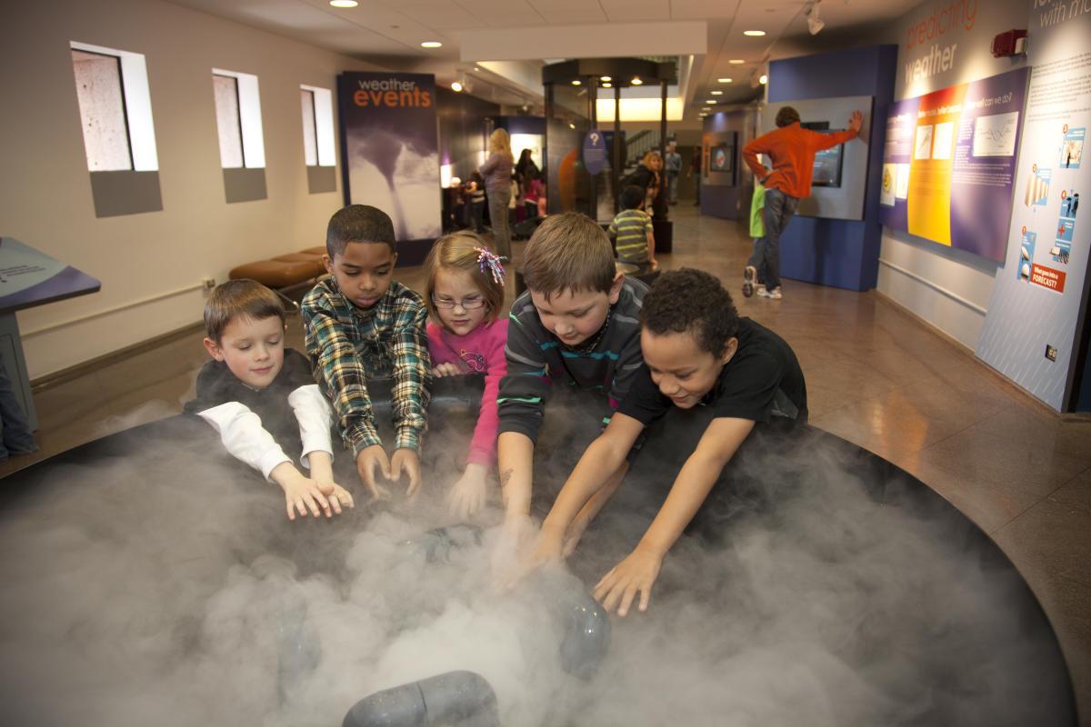 Kids at NCAR Boulder