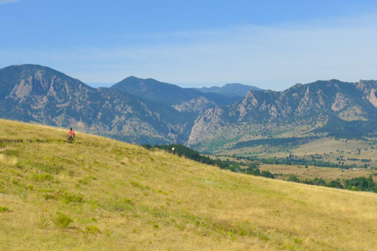 Mountain Biking Boulder Marshall Mesa