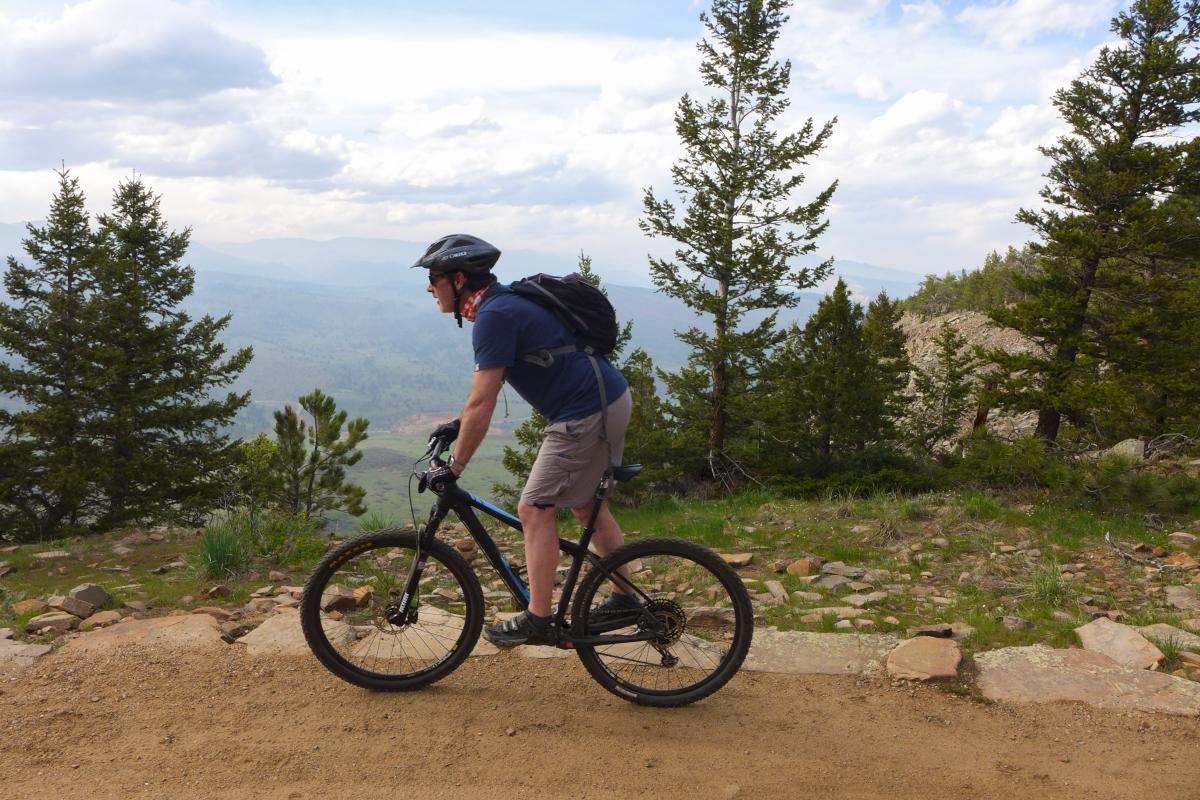 Mountain Biking Boulder Ponderosa