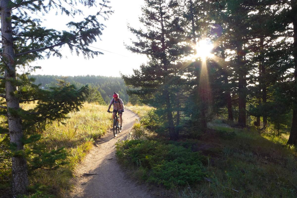 Mountain Biking Boulder Walker Ranch