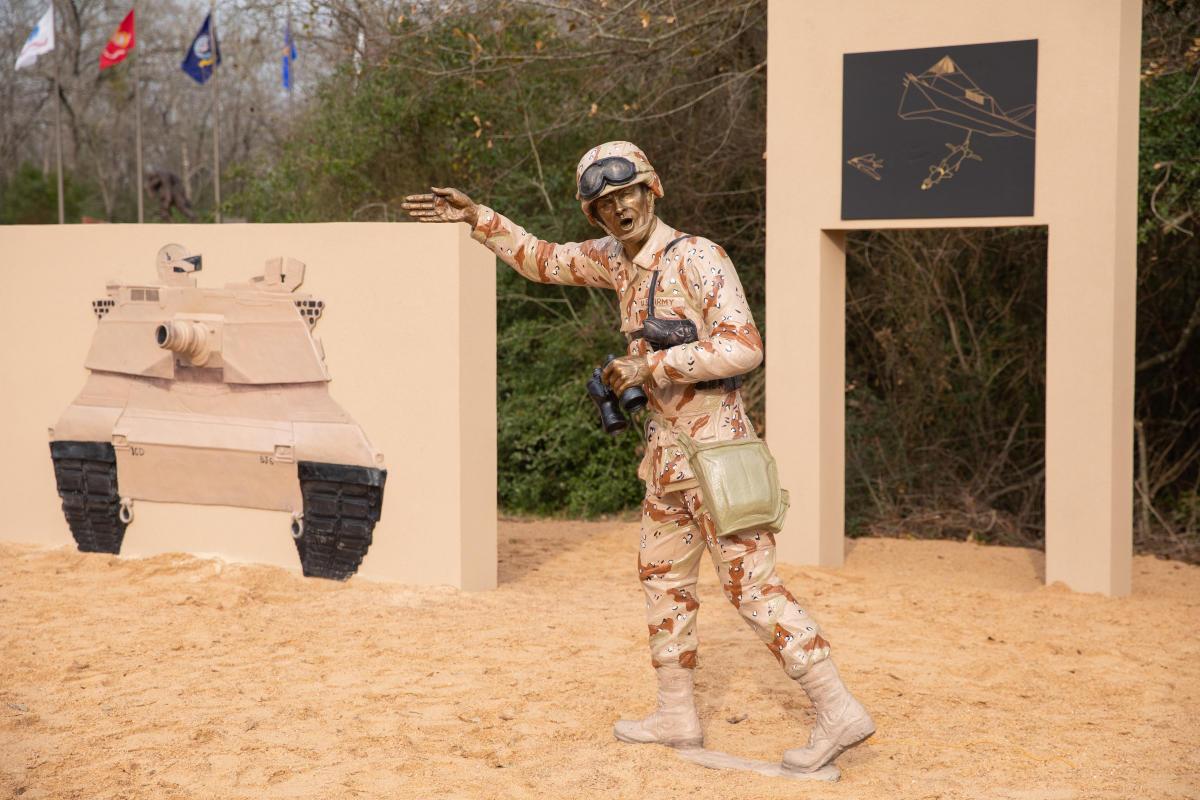 Gulf War Statue